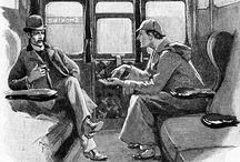 Sherlock Holmes illustation