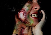 Face painting Horror Make up Zombie