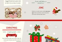 Greeting Card Infographics / Greeting card infographics from Creased Cards