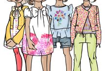 kid fashion illustration
