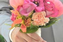 bruidsboeket / Bruidsboeket gemaakt door 't Bloemenketheltje #summerfeeling #wedding #flowers #bouquet