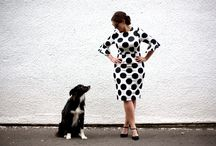 Polka Dots / Style post on The Daydreamer.   http://bit.ly/brave-world