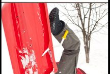 Winter Outdoor Fun / Fun things to do with your kids outside in the winter.