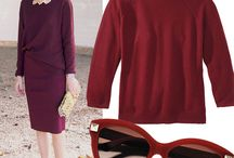 Marsala / How to wear the color of the Year 2015