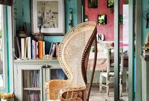 Beautiful chairs / Peacock chairs
