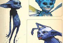 Harry potter creatures