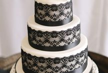 Black Lace Wedding