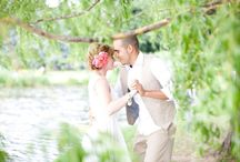 mariage en plein air / mariage en plein air très libre et agréable