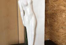Mon travail: sculptures