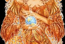Of Gaia and Goddesses / Gaia, the Great Mother Goddess, and all goddesses - past, present, and future.