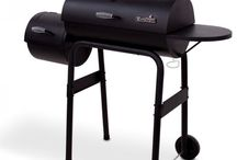 BBQ Charcoal Grill Backyard Outdoor Patio Garden Barbecue Cooking Chamber Smoker