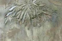 plaster and glue art