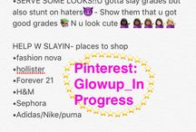 Glo up/hoe tips ❤️❤️