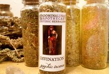 Incenses, smudges, powders / Powders of incense for spells, celebrations and practical magic - glass 80mmx30mm bottles