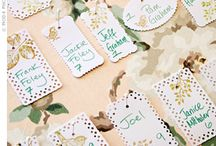 escort cards / by Kimberly Buffington