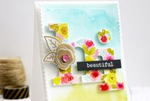Card Inspiration: Watercolors / Need inspiration before the big Watercolor Blog Hop? Here are some of my favorites!