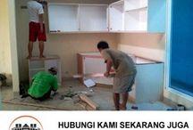 kitchen set depok, tukang kitchen set depok