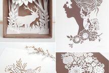 Cut Paper / cut paper inspiration