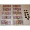 10 X ZHONGGUO RENMIN YINHANG Banknote 5 Wu Jiao 1980 & Coins / by Casey