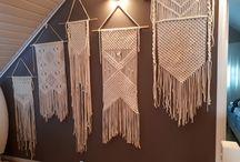 Macrameinspiration / Macrame wall hanger
