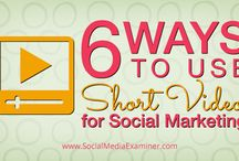 Video & Visual Content Marketing Tips / Tips about video and visual content marketing