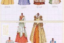 robes costumes époques