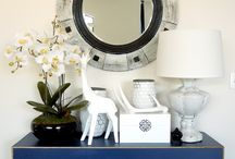 Consoles/Mirrors/Entry / by Diane Smith