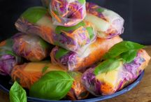 EAT | SPRING ROLL CITY! / SPRING ROLLS, SUMMER ROLLS, WRAPS
