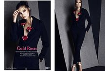 Gold Roses for HUF Magazine