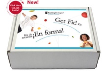 Get Fit! Kit / This bilingual kit offers research-based activities and resources to encourage physical activity and healthy eating.  Learn more at TeachingStrategies.com/GetFit