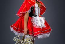 красная шапка&платье