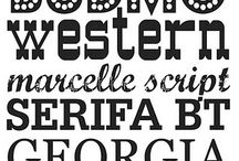 Fonts graphics etc etc / by Michelle Tuma-Spano