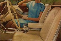Cars Inside, Dashboards & Details / Dashboards and Inside Antique American Cars