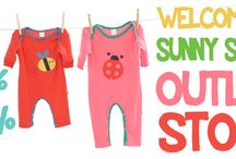 Outlet Store @SunnySide.gr / New Section Outlet Store | Eco-friendly clothes for Babies and Kids up to 70%OFF