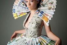 платья из нетрадиционных материалов