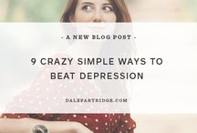 help for depression and anxiety / Articles on coping with depression and anxiety