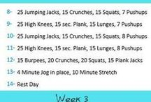 Workout routines for beginners / Working out is something that can be intimidating to beginners. Here is a guide to start you on the right track!