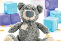 teddy bear knitting paterns