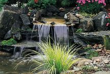 Water Features  / Water features designed and installed by Campbell & Ferrara.