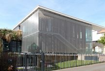 Solutions: metal mesh facades