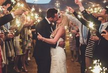 Weddings // Sparkler shots