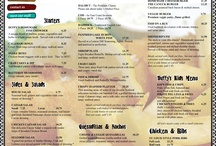 Southampton Menus / tasty things in Southampton