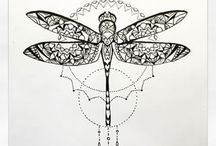 mandala- dragonfly