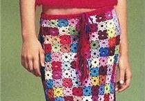 Вязанные юбочки