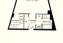 Studio Apartment Floorplans