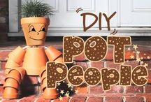 DIY POT PEOPLE