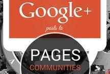 Google + / Infografías sobre Google +