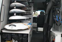 Windsurfing Van