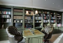 Stonehouse Library and Study ideas