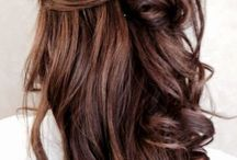 Brunette / Shades of brown hair color.